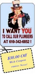 Uncle Sam: I Want You to Call Our Plumbers