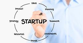 Startup circle
