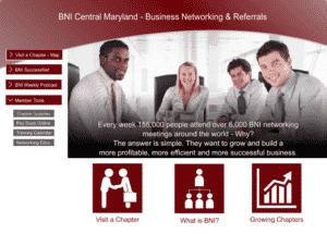 BNI Central Maryland home page
