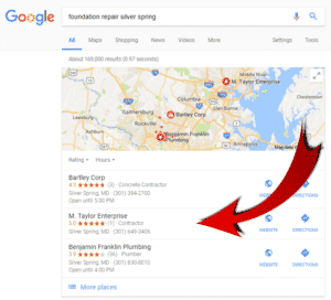 SERP Feature - Local Pack