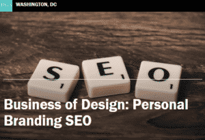 """SEO"" Scrabble letters - Business of Design: Personal Branding SEO"