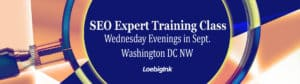 SEO Expert Training in DC