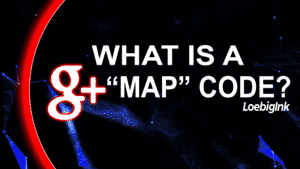 """What is a g+ """"Map"""" Code?"""