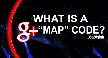 "What is a g+ ""Map"" Code?"