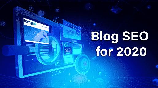 Blog SEO for 2020