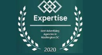 Expertise.com's Best Advertising Agencies in Washington, DC seal